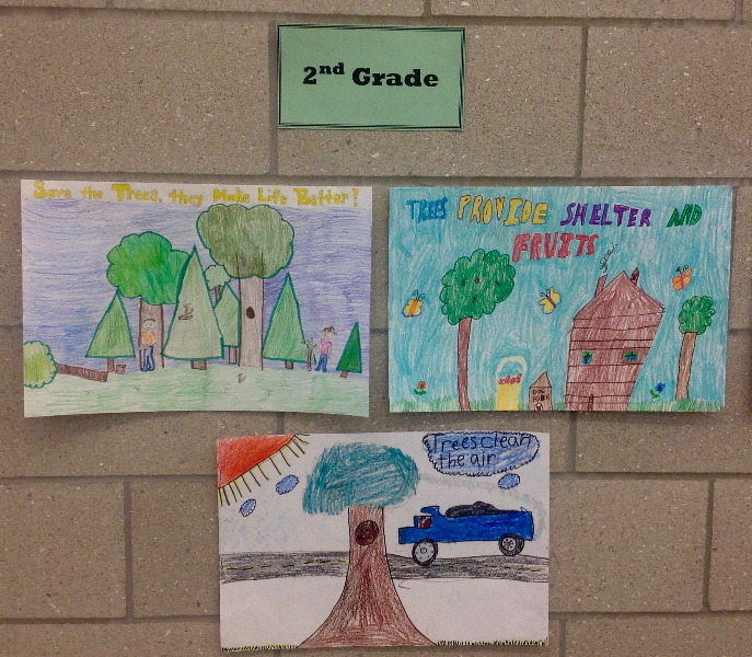 Usd 422 2016 soil conservation poster winners for Soil 2nd grade